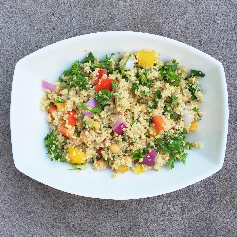 Quinoa protein salad kale krunches quinoa protein salad forumfinder Choice Image